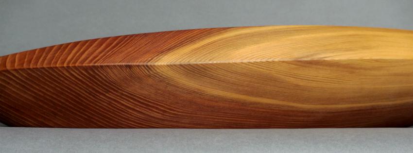 Designerschale Holz