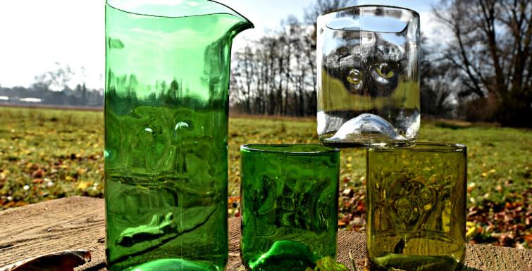 Glasdesign von Jesper Jensen – glass design of Jesper Jensen