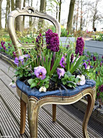 Blumenstuhl – flower chair