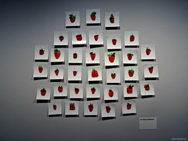 Ein Pfund Erdbeeren